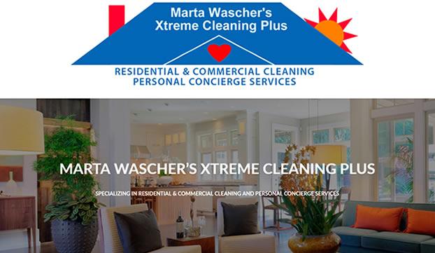 Marta Wascher's Xtreme Cleaning Plus