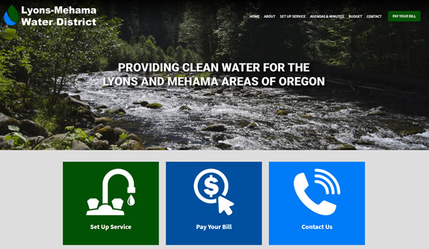 Lyons-Mehama Water District